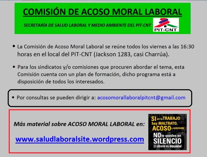 Información Acoso PIT-CNT